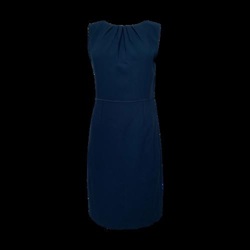 Elie Tahari Teal Sheath Dress