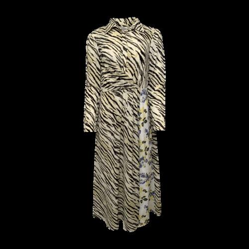 Baum Und Pferdgarten Zebra and Floral Printed Dress
