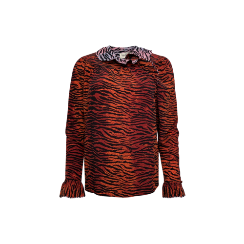 Kenzo x H&M Mixed Zebra Print Blouse