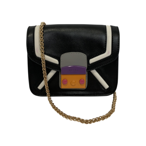 Furla Metropolis Color-Block Mini Crossbody Bag