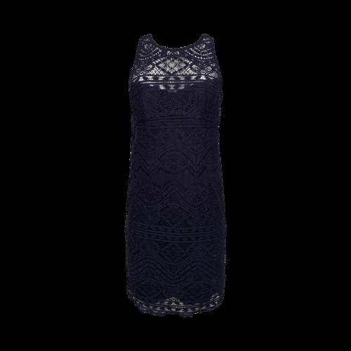 Nanette Lepore Navy Crochet Dress