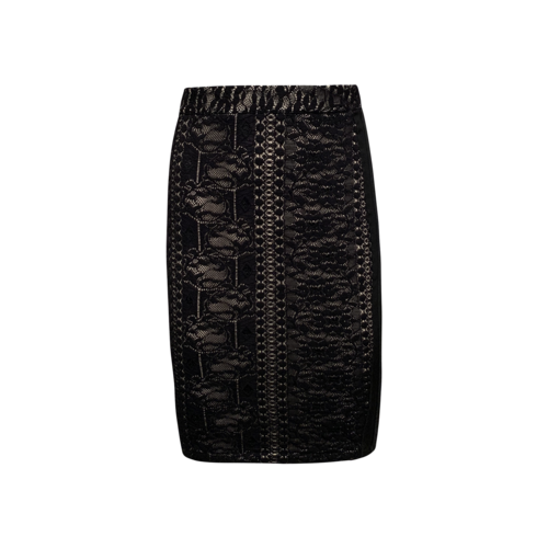 Givenchy Lace Body-Con Skirt