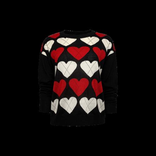 Moschino Hearts Sweater