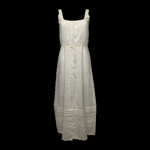Ralph Lauren White Cotton Midi Dress