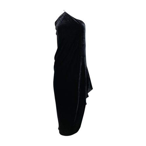 Jill Stuart Velvet One-Shoulder Dress