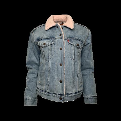 Levi's Denim Jacket w/ Fleece Lining