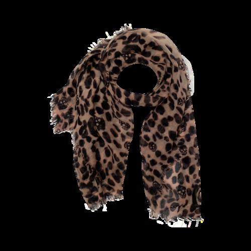 Boutique Leopard Skull Scarf