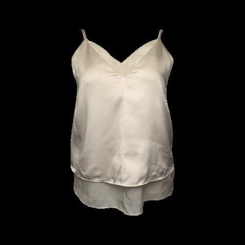 Alexander Wang Cream Silk Top