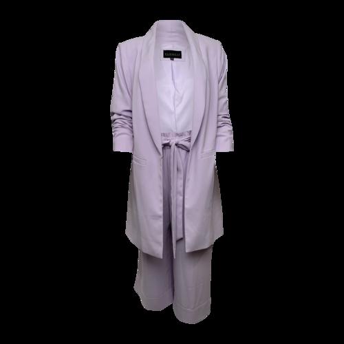 Eloquii Lilac Two-Piece Suit Set