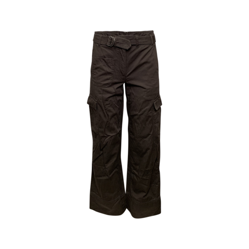 Helmut Lang Olive Green Utility Pants