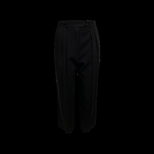Escada Black Pleated Pants