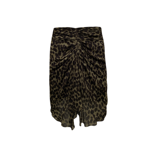 Isabel Marant Front Cinch Pattern Skirt