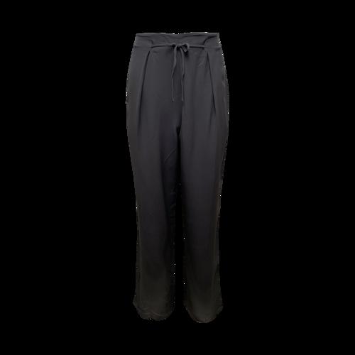 Emporio Armani Grey Silk Trousers