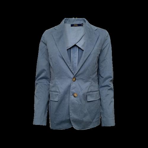 Ralph Lauren Light Blue Button Front Blazer