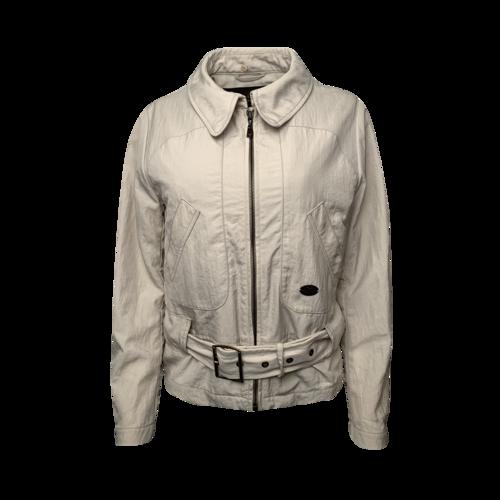 Louis Vuitton Cream Belted Jacket