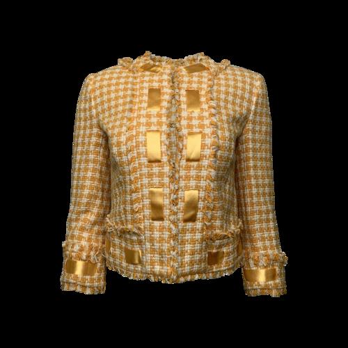 Walter Yellow Tweed Jacket