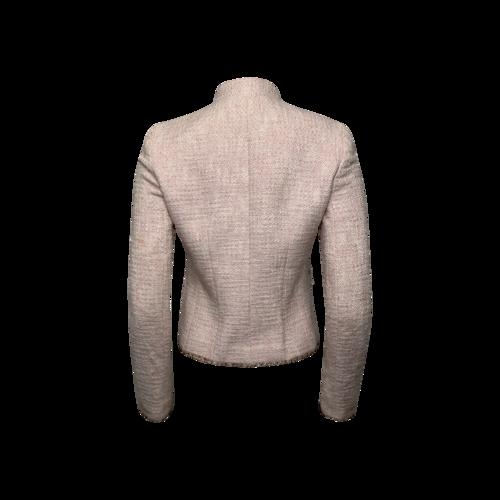 Pink Tweed Jacket w/ Beading