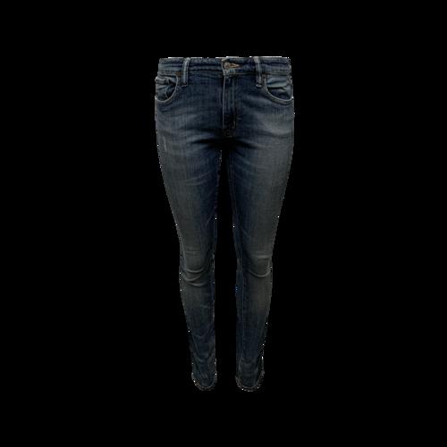 Ralph Lauren Blue Mid-Rise Skinny Jeans