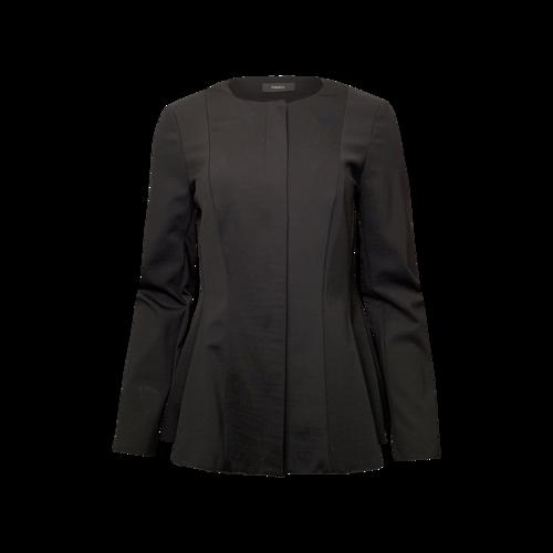 Theory Black Peplum Jacket