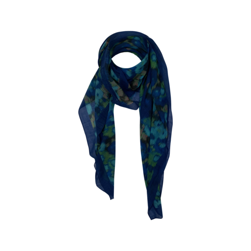 Boutique Abstract Floral Print Scarf