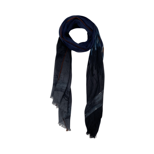 Boutique Brushstrokes Print Scarf