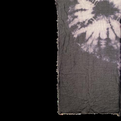Tie-Dye Print Scarf