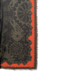 Cogs and Wheels Print Scarf