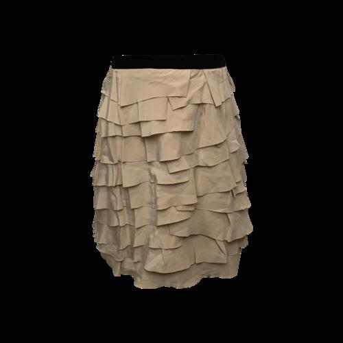 Alexander Wang Pink Ruffle Tier Skirt