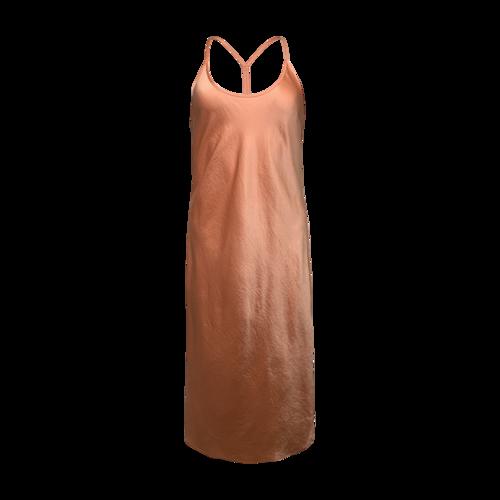 Alexander Wang Orange Sherbert Racerback Slip Dress