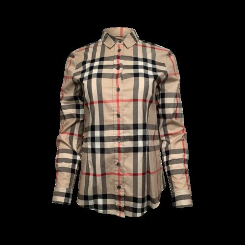 Burberry Classic Burberry Print Long Sleeve Shirt
