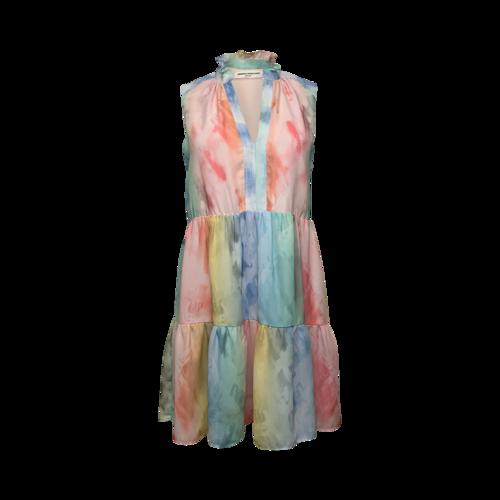Amanda Uprichard Tie Dye Print Dress