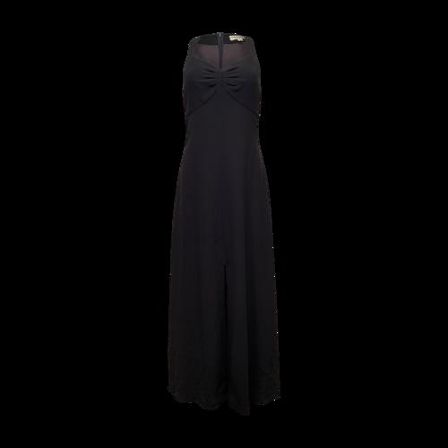 Giorgio Armani Dark Blue Sweetheart Neckline Gown