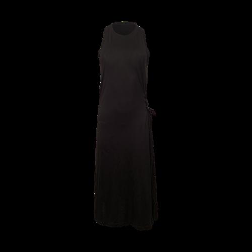 rag & bone Black Racerback Side Tie Dress