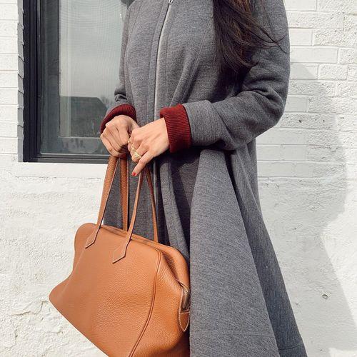 Christian Dior Grey Wool Coat