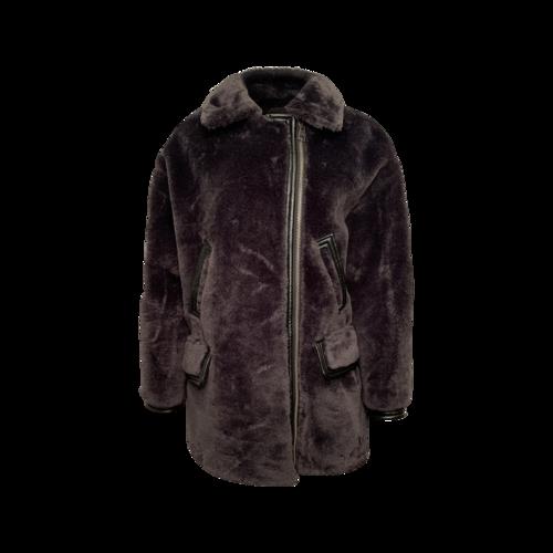 Roberto Cavalli Faux Fur Shearling Coat