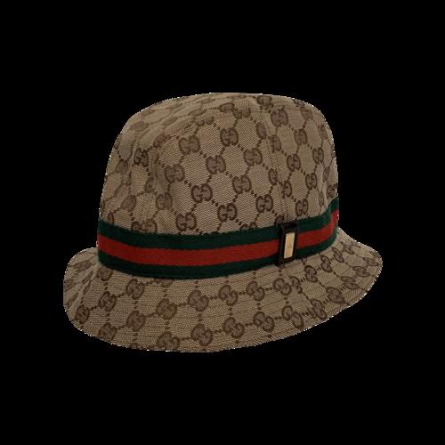 Gucci Classic Monogram Canvas Bucket Hat
