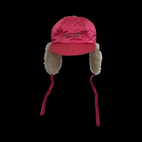 Courreges Paris Pink Winter Hat