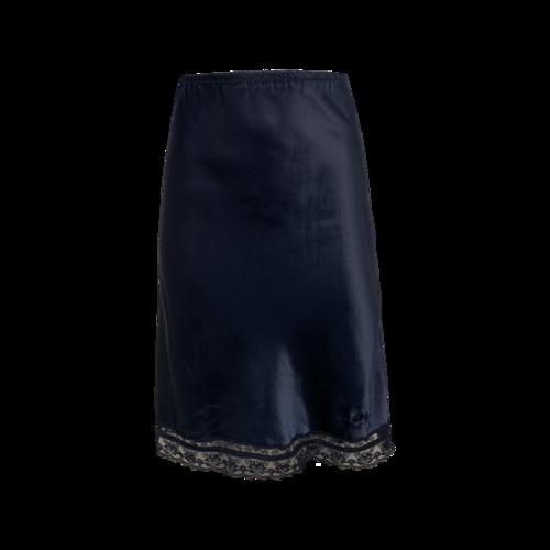 Dior Satin Blue Skirt