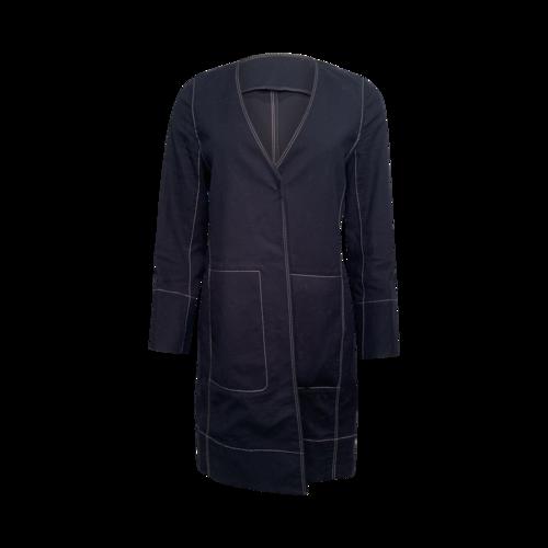 Calvin Klein Dark Navy Long Jacket