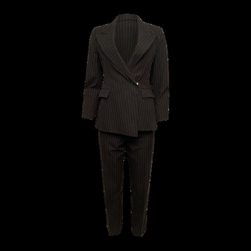 Yves Saint Laurent Pinstripe 2-Piece Suit Set