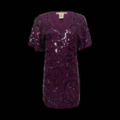 Nanette Lepore Purple Sequin Dress