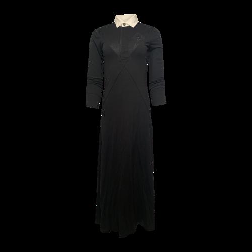 "Ralph Lauren Black ""Soiree"" Polo Maxi Dress"
