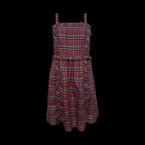 Marc Jacobs Singer Plaid Voile Dress