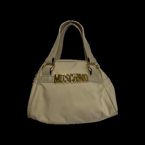 Moschino Mini Beige Bag