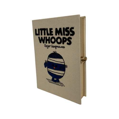 """Olympia Le-Tan """"Little Miss Whoops"""" Book Clutch"""