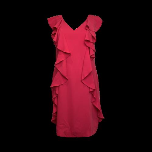 Trina Turk Pink Ruffle Dress