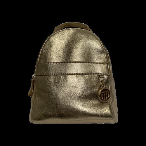Tommy Hilfiger Gold Mini Backpack
