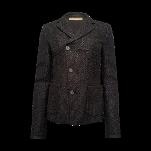 Balenciaga Black Textured Blazer