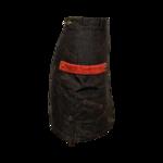 Logo Denim Skirt