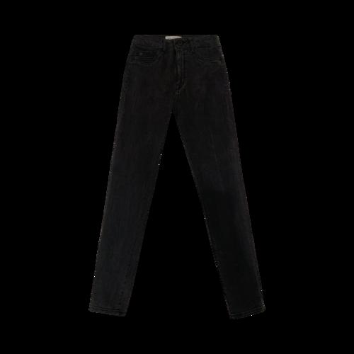 "DL1961 Black ""Trimtone"" Skinny Jeans"